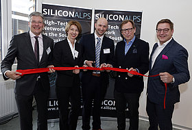 [Translate to English:] Eröffnung Silicon Alps Cluster Villach