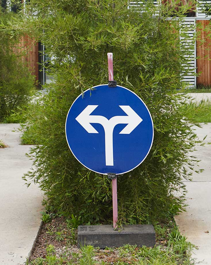 sign left or right